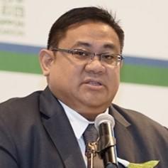 ジュン B マグノ<br> フィリピン国鉄総裁<br>